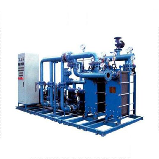 板式换热器机组效率低的处理方法